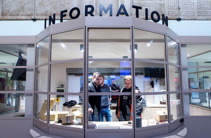 Kiosque information